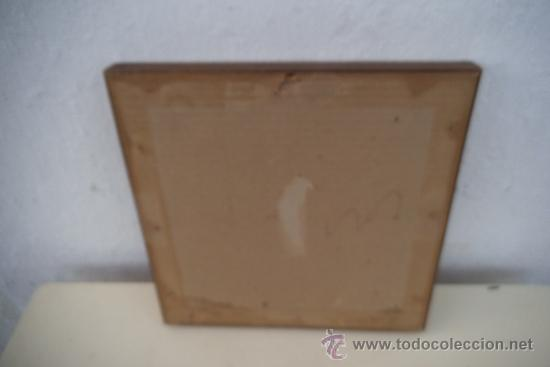 Antigüedades: pequeño cuadro de tapiz - Foto 3 - 34551721