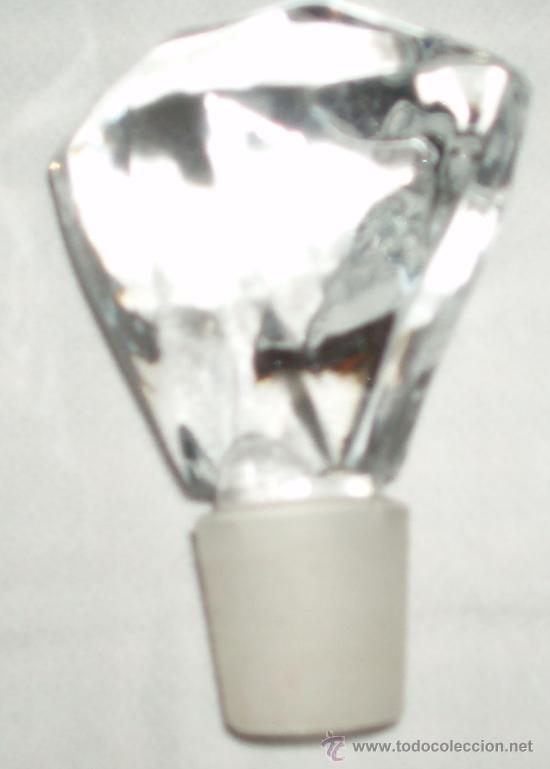 Antigüedades: lote de varios tapones antiguos para botellas de cristal - Foto 7 - 34566806