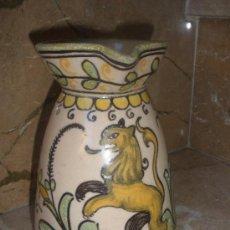 Antigüedades: ANTIGUA JARRA CERÁMICA PUENTE DEL ARZOBISPO - TOLEDO. ALFAR SANTA CATALINA .. Lote 34589661