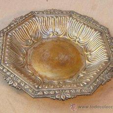 Antigüedades: FRUTERO EN METAL PLATEADO. Lote 34595654