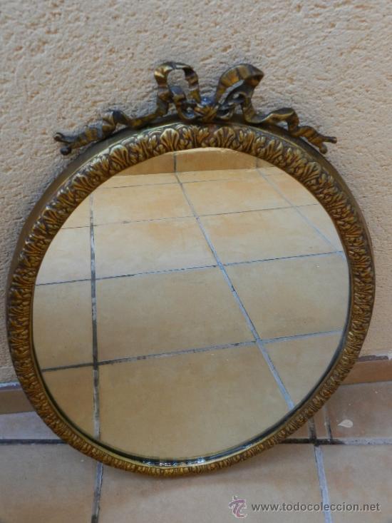 Espejo antiguo de pared consola c moda de e comprar - Espejos antiguos de pared ...