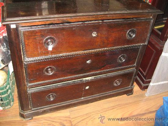Antigua c moda de madera con espejo comprar c modas - Comodas antiguas restauradas fotos ...