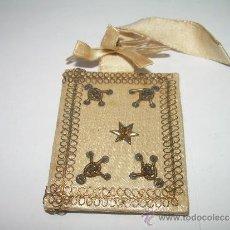 Antigüedades: ANTIGUO ESCAPULARIO DE TELA.. Lote 34643620