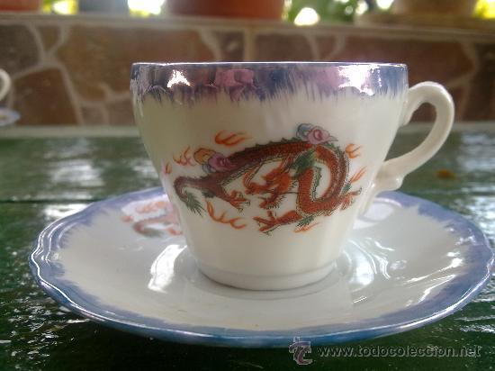 Antigüedades: antiguo juego de cafe japones, marca eiho. precioso - Foto 3 - 34645403