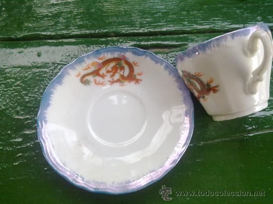 Antigüedades: antiguo juego de cafe japones, marca eiho. precioso - Foto 4 - 34645403