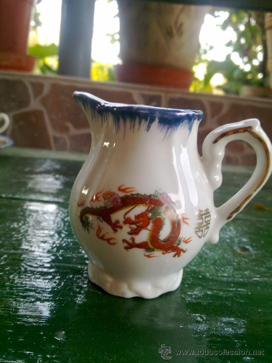 Antigüedades: antiguo juego de cafe japones, marca eiho. precioso - Foto 6 - 34645403