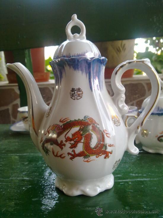 Antigüedades: antiguo juego de cafe japones, marca eiho. precioso - Foto 7 - 34645403