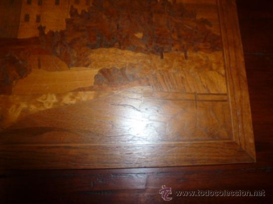 Antigüedades: panel de marqueteria para mueble - Foto 6 - 34645736