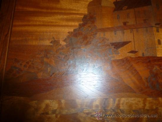 Antigüedades: panel de marqueteria para mueble - Foto 5 - 34645736