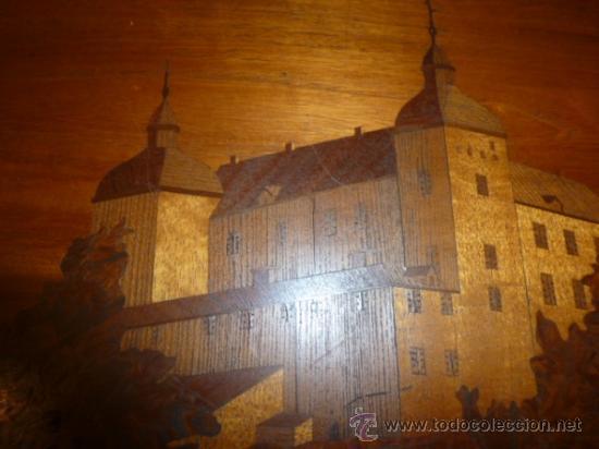 Antigüedades: panel de marqueteria para mueble - Foto 4 - 34645736