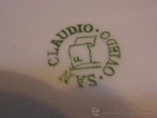 Antigüedades: PLATO HONDO, ENSALADERA SAN CLAUDIO - Foto 4 - 34657258