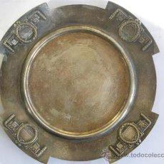 Antigüedades: PRECIOSO CENICERO O CENTRO JUGENDSTIL. ART NOUVEAU. AUSTRIA.1900. Lote 34657778