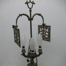 Antigüedades: LÁMPARA ANTIGUA DE COBRE. Lote 34660617