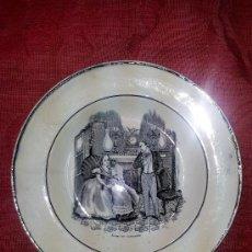 Antigüedades: PLATO FABRICA AMISTAD CARTAGENA. Lote 34660729