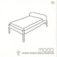Discos de vinilo: LP MAGA BLANCO VINILO. Lote 135214246