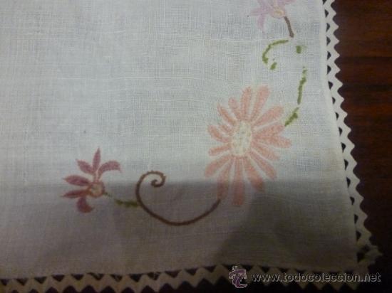Antigüedades: mantel de lino mallorca - Foto 10 - 34660913