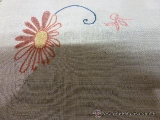 Antigüedades: mantel de lino mallorca - Foto 3 - 34660913