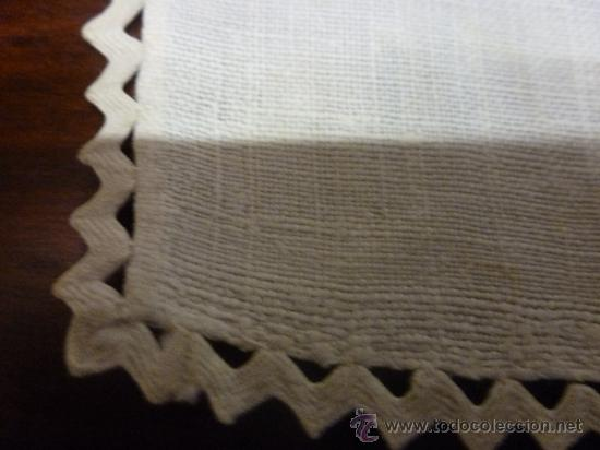 Antigüedades: mantel de lino mallorca - Foto 7 - 34660913