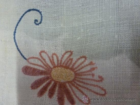Antigüedades: mantel de lino mallorca - Foto 4 - 34660913
