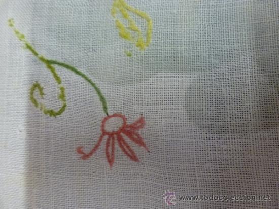 Antigüedades: mantel de lino mallorca - Foto 2 - 34660913