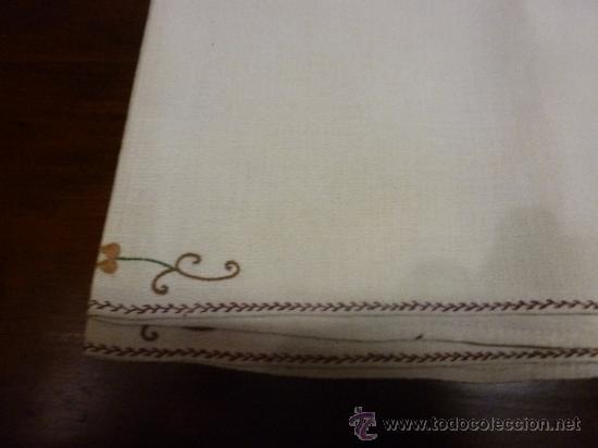 Antigüedades: mantel mallorca color - Foto 6 - 34675222