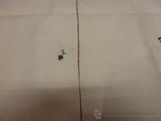Antigüedades: mantel mallorca color - Foto 4 - 34675222
