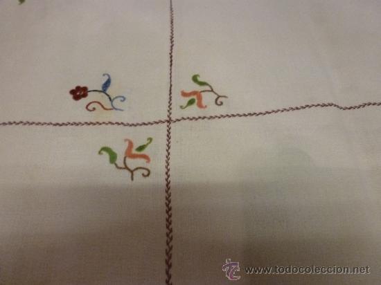 Antigüedades: mantel mallorca color - Foto 5 - 34675222
