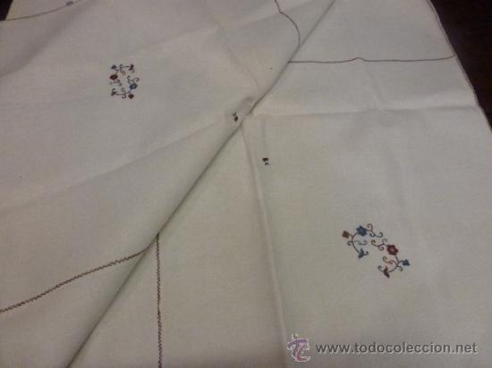 Antigüedades: mantel mallorca color - Foto 9 - 34675222