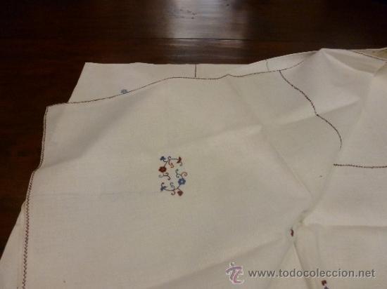 Antigüedades: mantel mallorca color - Foto 8 - 34675222