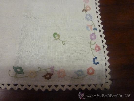 Antigüedades: mantel mallorca color - Foto 6 - 34676361