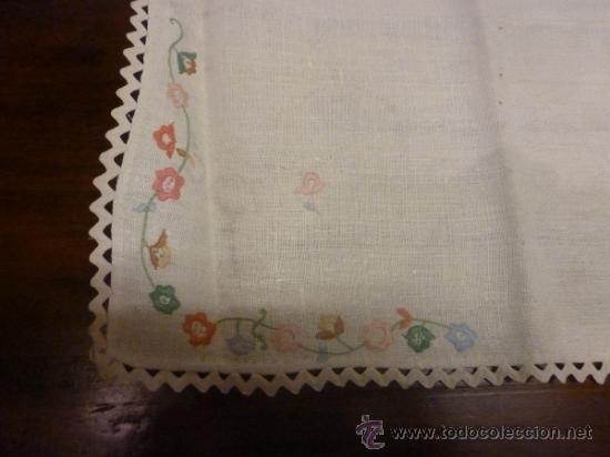 Antigüedades: mantel mallorca color - Foto 5 - 34676361