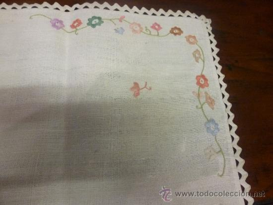 Antigüedades: mantel mallorca color - Foto 3 - 34676361