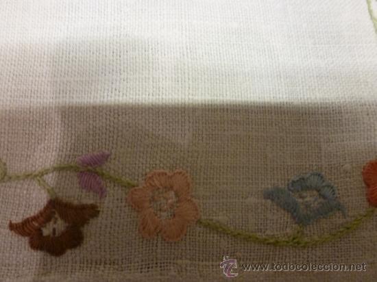 Antigüedades: mantel mallorca color - Foto 2 - 34676361