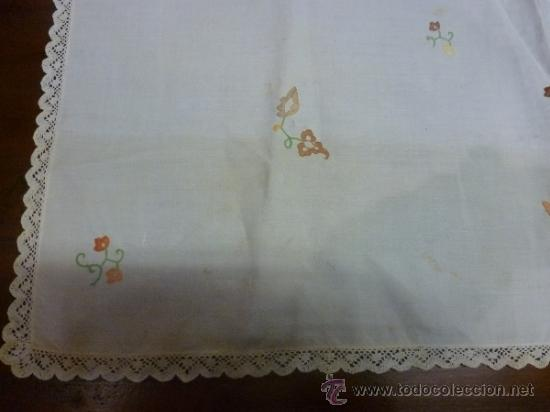 Antigüedades: mantel mallorca color - Foto 2 - 34676337
