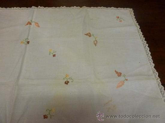 Antigüedades: mantel mallorca color - Foto 6 - 34676337