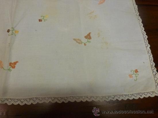 Antigüedades: mantel mallorca color - Foto 5 - 34676337