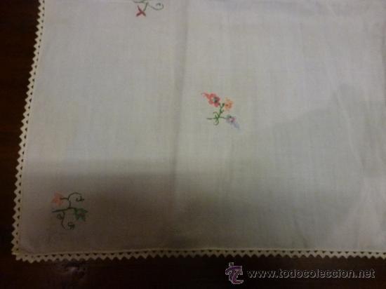 Antigüedades: mantel mallorca color - Foto 2 - 34676286