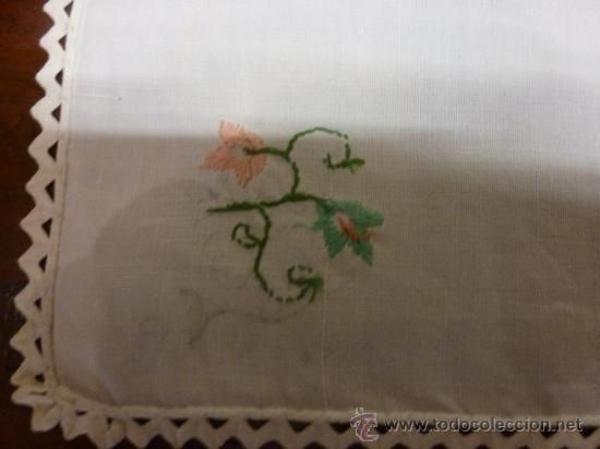 Antigüedades: mantel mallorca color - Foto 6 - 34676286