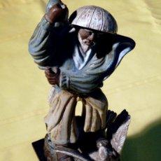Antigüedades: FIGURA EN PORCELANA DE XINO.. Lote 34864615