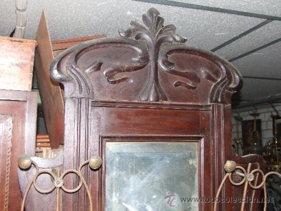 Perchero mueble colgador entrada modernista de comprar muebles auxiliares antiguos en - Mueble perchero entrada ...
