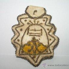 Antigüedades: ANTIGUO ESCAPULARIO DE TELA....N.S. MONTSERRAT.. Lote 34777906