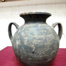 Antigüedades: CANTARA O BARREÑO DE BARRO. ALONSO. ESCUELA MUNICIPAL DE AVILÉS, ASTURIAS. Lote 34794413