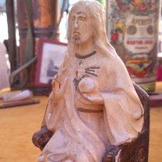 """Antigüedades: SAGRADO CORAZÓN DE OLOT """"EL BUEN PASTOR"""". Lote 34860391"""