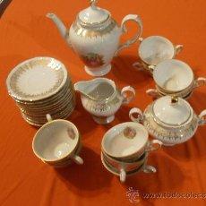 Antigüedades: JUEGO DE CAFE DE PORCELANA , WINTERLING SCHWARZENBACH, BAVARIA, GERMANY. Lote 34864659