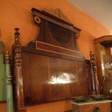 Antigüedades: PRECIOSA PIEZA ÁNTIGUA CAMA MALLORQUINA. Lote 34871950
