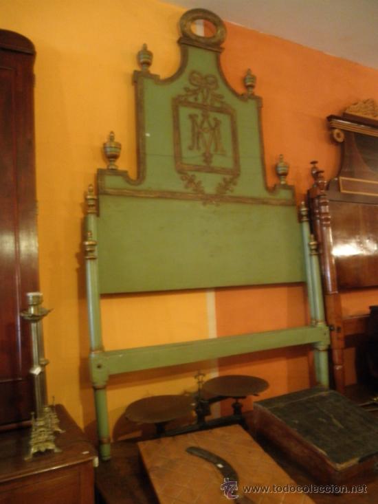 Antigüedades: EXTRAODINÁRIA CAMA DE OLOT TOTALMENTE ORIGINAL - Foto 2 - 34872284