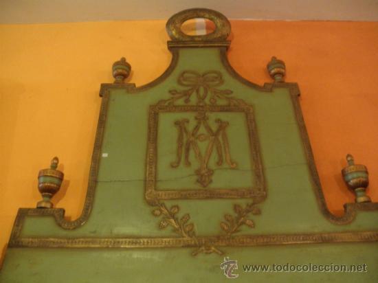Antigüedades: EXTRAODINÁRIA CAMA DE OLOT TOTALMENTE ORIGINAL - Foto 3 - 34872284
