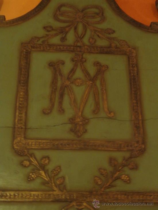 Antigüedades: EXTRAODINÁRIA CAMA DE OLOT TOTALMENTE ORIGINAL - Foto 4 - 34872284