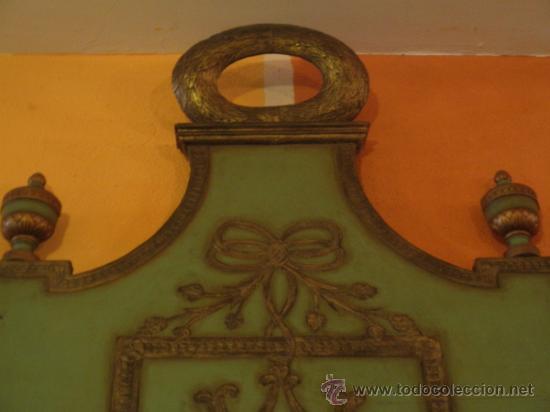 Antigüedades: EXTRAODINÁRIA CAMA DE OLOT TOTALMENTE ORIGINAL - Foto 5 - 34872284