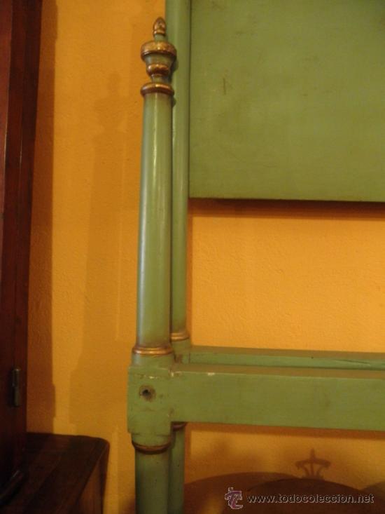 Antigüedades: EXTRAODINÁRIA CAMA DE OLOT TOTALMENTE ORIGINAL - Foto 6 - 34872284